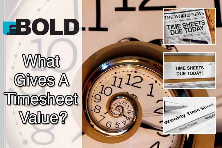 Inbold timesheets