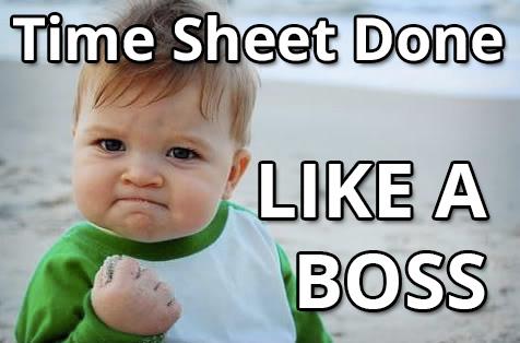 free time sheet