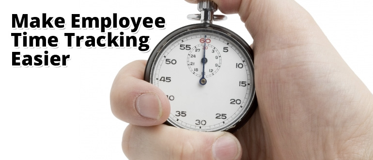 employee time tracking made easy