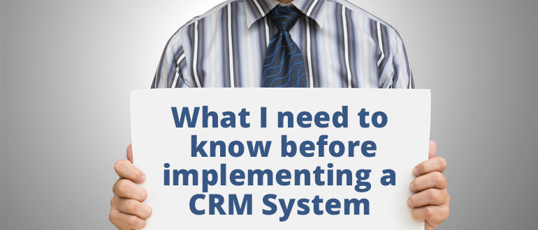 what you need to know about cRM