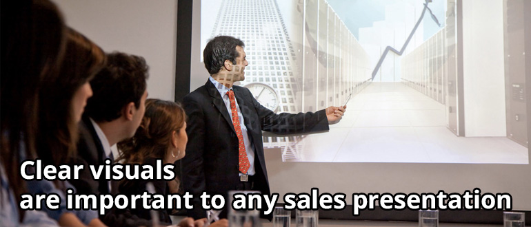 good sales presentation